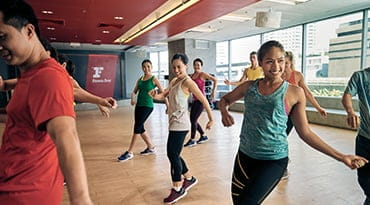 Fitness First Philippines belly dancing class