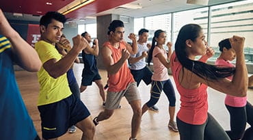 Fitness First Philippines body combat class