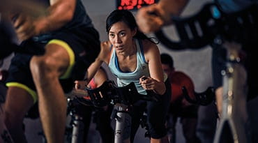 Fitness First Philippines rpm cycling class