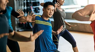 Fitness First Philippines zumba dance class