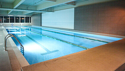 Fitness centers with pools in the Philippines