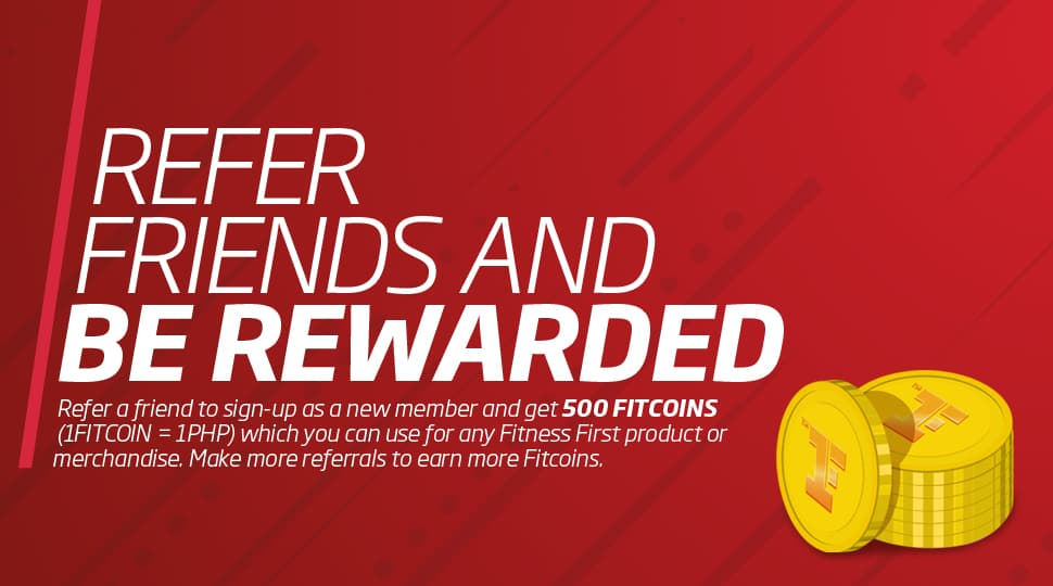 Refer friends and be rewarded