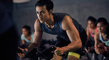 Fitness First Philippines cycling cardio class